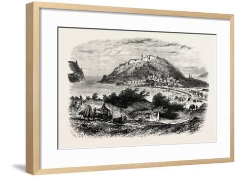 San Sebastian, Or, Donostia, Spain, 19th Century--Framed Art Print