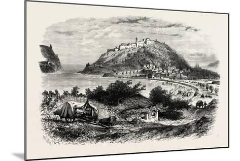 San Sebastian, Or, Donostia, Spain, 19th Century--Mounted Giclee Print