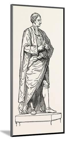 Roubiliac's Statue from the Chapel of Trinity College--Mounted Giclee Print