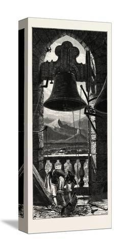 Bell Tower, Murcia, Ganada, Spain, 19th Century--Stretched Canvas Print