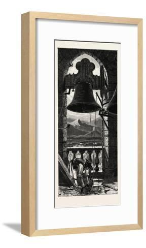 Bell Tower, Murcia, Ganada, Spain, 19th Century--Framed Art Print