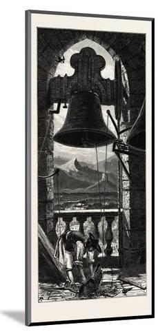 Bell Tower, Murcia, Ganada, Spain, 19th Century--Mounted Giclee Print
