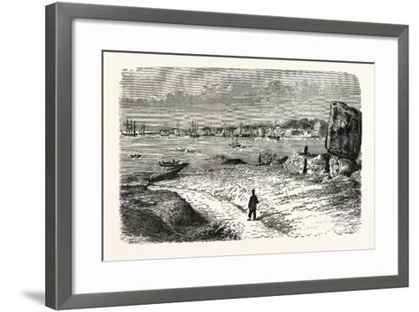 View of the City of Amoy, in the Province of Fo-Kien--Framed Art Print