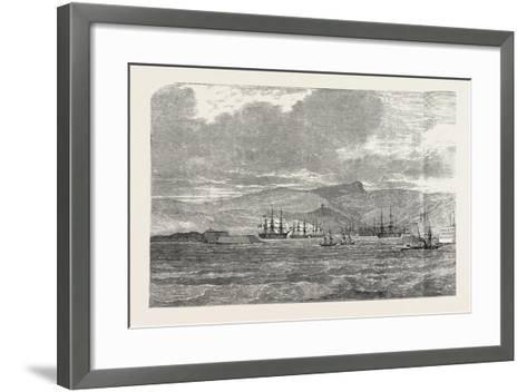 Sebastopol, and its Fortifications, on the Black Sea--Framed Art Print