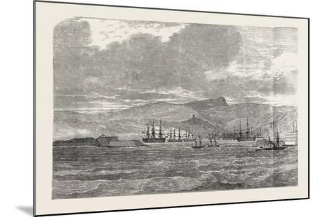 Sebastopol, and its Fortifications, on the Black Sea--Mounted Giclee Print