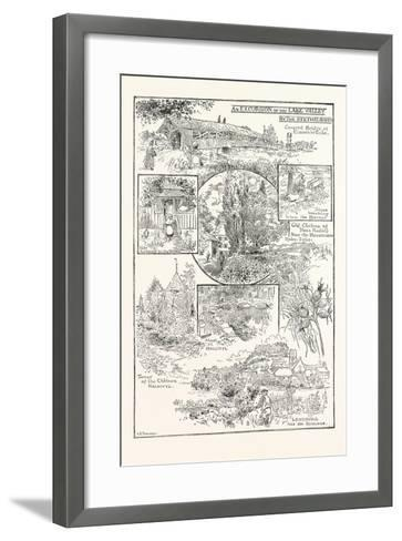 An Excursion Up the Lake Valley by the Seethalbahn--Framed Art Print