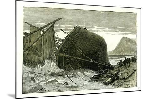 Dover U.K. 1887 Wreck of the Russian Vessel Joutsen--Mounted Giclee Print