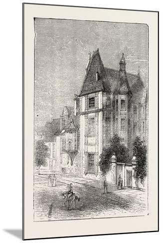 Scarron's House at Le Mans, France, 1871--Mounted Giclee Print