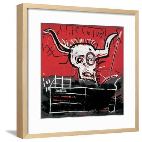Cabra-Jean-Michel Basquiat-Framed Art Print