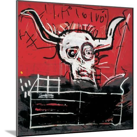 Cabra-Jean-Michel Basquiat-Mounted Giclee Print