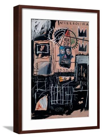 Untitled (Loans)-Jean-Michel Basquiat-Framed Art Print
