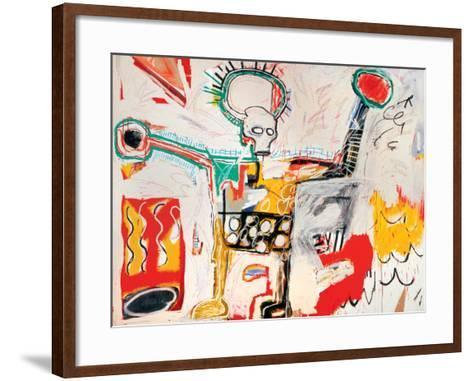 Untitled-Jean-Michel Basquiat-Framed Art Print