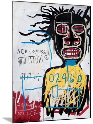 Self-Portrait as a Heel-Jean-Michel Basquiat-Mounted Giclee Print
