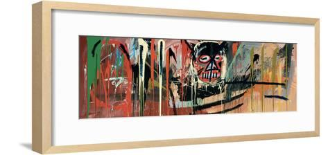 Untitled (Devil)-Jean-Michel Basquiat-Framed Art Print