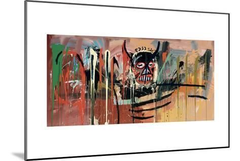 Untitled (Devil)-Jean-Michel Basquiat-Mounted Giclee Print