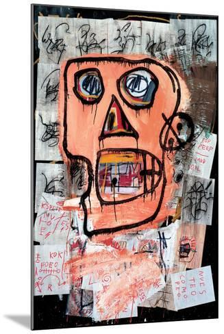 Untitled-Jean-Michel Basquiat-Mounted Giclee Print