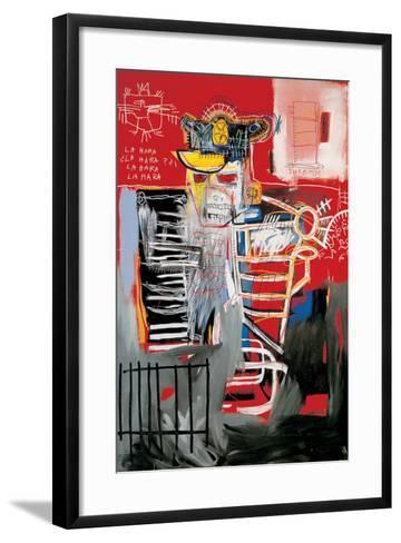 La Hara-Jean-Michel Basquiat-Framed Art Print
