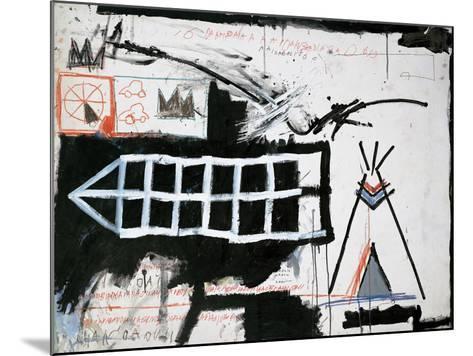 Untitled (Samo, New York)-Jean-Michel Basquiat-Mounted Giclee Print