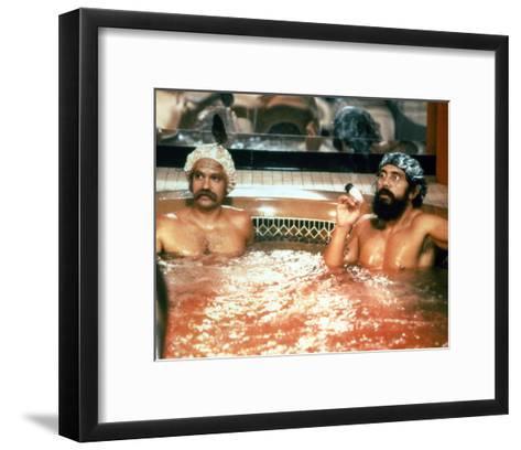 Cheech and Chong--Framed Art Print
