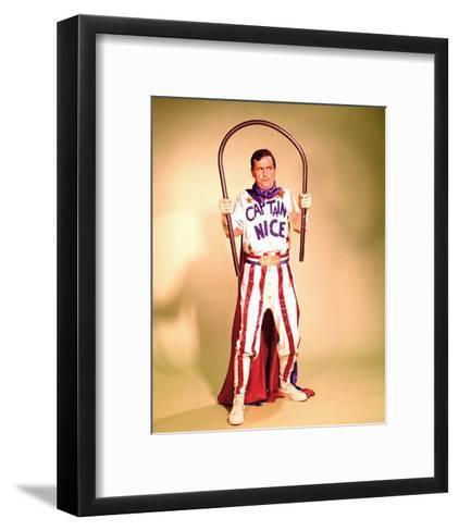 Captain Nice--Framed Art Print