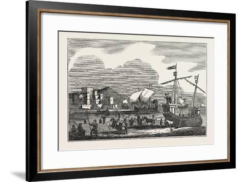 Shipping of the Reign of Henry III 1269--Framed Art Print