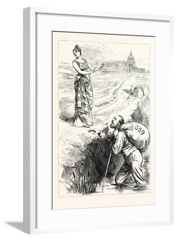 Christian Garfield's Slough of Despond--Framed Art Print