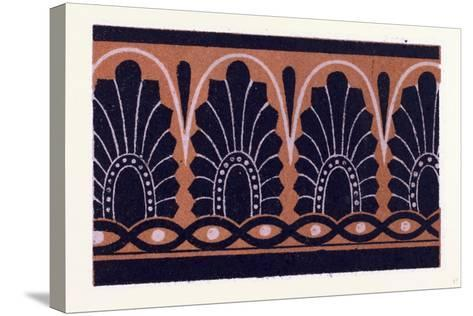 Greek Ornament and Etruscan Ornament--Stretched Canvas Print
