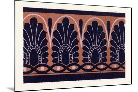 Greek Ornament and Etruscan Ornament--Mounted Giclee Print