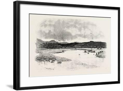 Junction of the Till and the Glen, UK--Framed Art Print