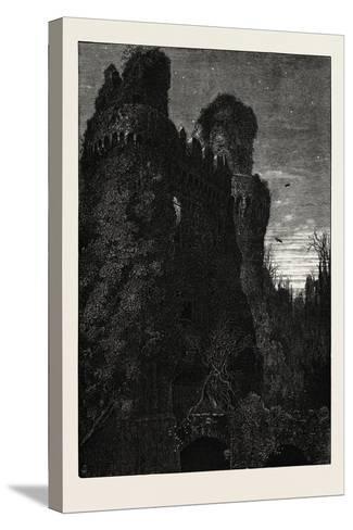 Hurstmonceaux Castle, Uk, 19th Century--Stretched Canvas Print
