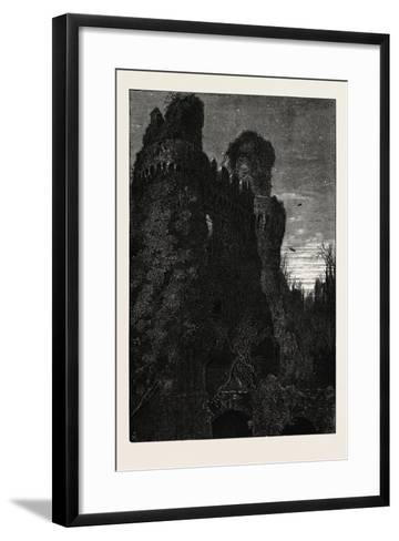 Hurstmonceaux Castle, Uk, 19th Century--Framed Art Print