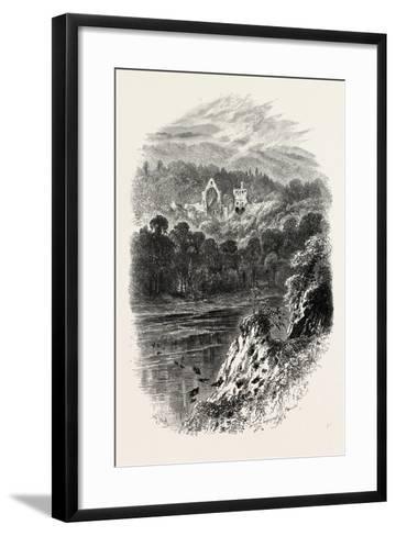 Dryburgh Abbey, Uk, 19th Century--Framed Art Print