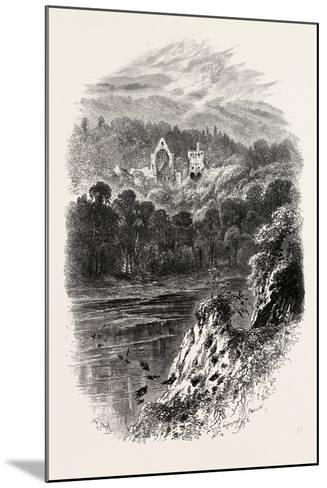 Dryburgh Abbey, Uk, 19th Century--Mounted Giclee Print