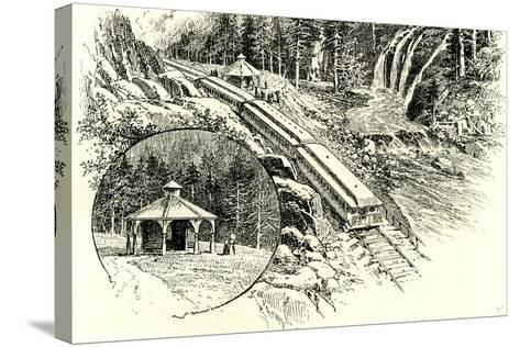 Yosemite Valley Mossbrae 1891, USA--Stretched Canvas Print