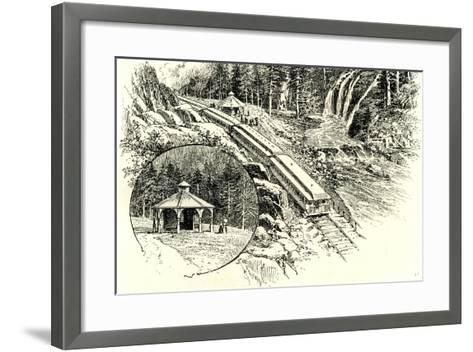 Yosemite Valley Mossbrae 1891, USA--Framed Art Print