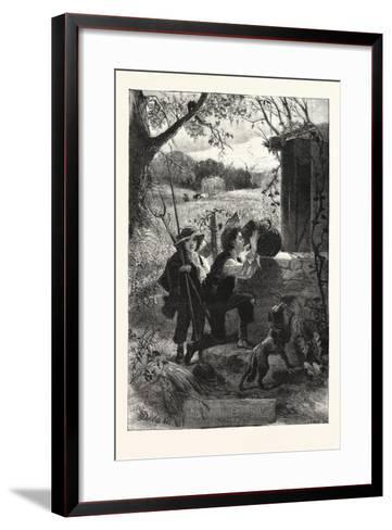 The Old Oaken Bucket, 1876, UK--Framed Art Print