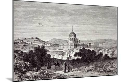 View of St. Peter's and the Vatican--Mounted Giclee Print