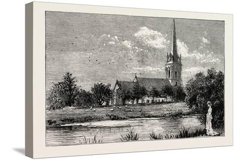 The Parish Church, Worsley, Uk--Stretched Canvas Print