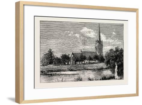 The Parish Church, Worsley, Uk--Framed Art Print