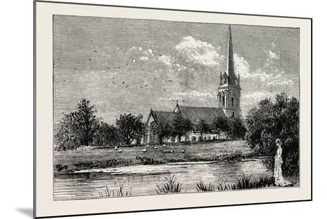 The Parish Church, Worsley, Uk--Mounted Giclee Print