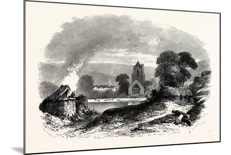 Etchingham Church, East Sussex, UK--Mounted Giclee Print