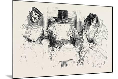 First Class Passengers, Railway--Mounted Giclee Print