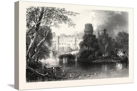 Warwick Castle, Uk--Stretched Canvas Print