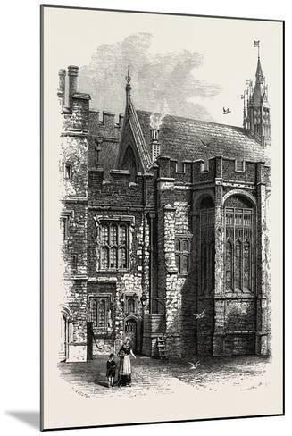 Eton, the College Hall, UK--Mounted Giclee Print