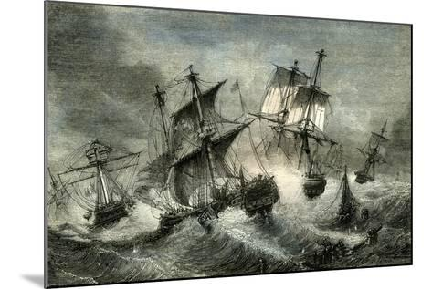 Island of Grenade July 1779--Mounted Giclee Print