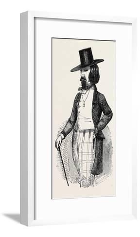 The Parisian Dandy--Framed Art Print