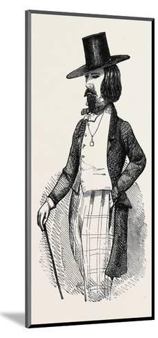 The Parisian Dandy--Mounted Giclee Print