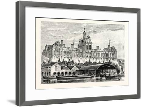 Cranbrook Road School--Framed Art Print