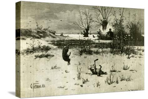 Hunt Austria 1891--Stretched Canvas Print
