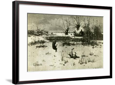 Hunt Austria 1891--Framed Art Print